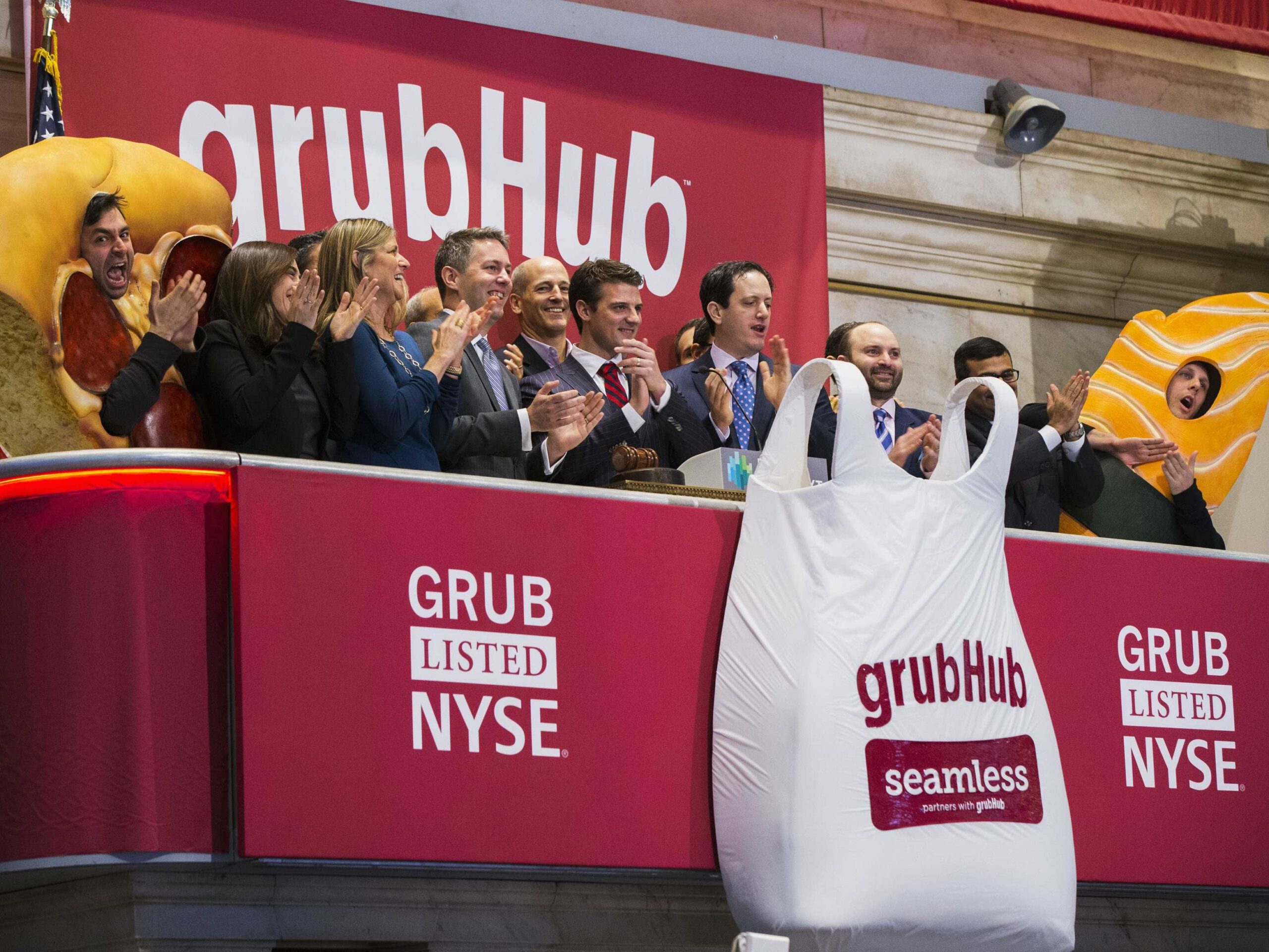 Grubhub is facing 14 lawsuits from angry investors who say it misled them about its $7.3 billion takeover by Just Eat Takeaway